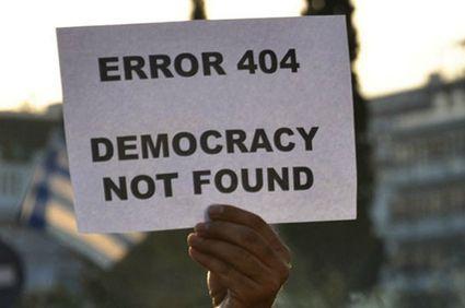 Erreur 404, démocratie absente